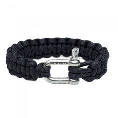 Naimakka Survival Bracelet - Black Paracord Bracelet