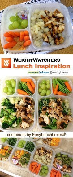Packed lunches and more. 2019 motivation and inspiration. Packed lunches and more. Packed lunches and more. 2019 appeared first on Lunch Diy. Plats Weight Watchers, Weight Watchers Lunches, Weight Watchers Smart Points, Healthy Meal Prep, Healthy Snacks, Healthy Recipes, Work Lunch Healthy, Healthy Weight, Clean Eating