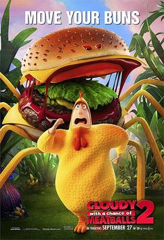 """""""Cloudy With a Chance of Meatballs 2"""" Character POSTERS"""