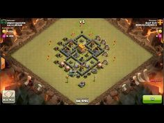 Clash of Clans TH6 vs TH5 Giant & Archer Clan War 3 Star Attack ⋆ Clash of Clans 3 Stars Clan Wars