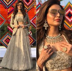 Karishma Tanna Net Embroidery Party Lehenga Blouse With Jacket Source by patelswati Blouses Lehnga Dress, Lehenga Blouse, Red Lehenga, Lehenga Choli, Jacket Lehenga, Pakistani Lehenga, Bridal Lehenga, Sarara Dress, Sarees