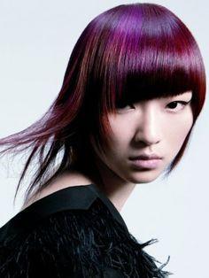 purple hair color 2013