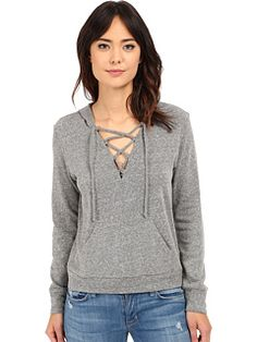 Lanston Lace-Up Hoodie | Pretty Little Liars