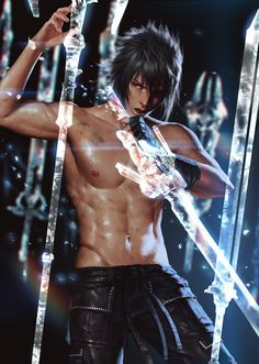 Final Fantasy XV/Noctis Lucis Caelum - COSPLAY IS BAEEE!!! Tap the pin now to grab yourself some BAE Cosplay leggings and shirts! From super hero fitness leggings, super hero fitness shirts, and so much more that wil make you say YASSS!!!