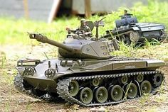 Bulldog RC Tank With Smoke & Sound - Metal Upgrade Pro Version