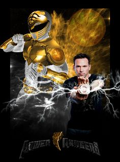 Mighty Morphin Power Rangers Artwork   Edit: There he is!