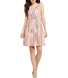 175f8868094 Rossmore by PPLA Sabrina Striped Aline Dress  Dillards