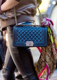 Vintage Chanel bags, right this way...