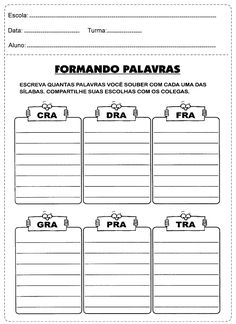 90 Atividades de Português do 3º Ano Ensino Fundamental para Imprimir - Online Cursos Gratuitos