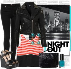 """Night Out"" by alaria ❤ liked on Polyvore"