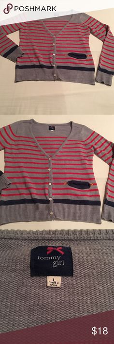 Tommy girl cardigan Tommy girl comfy cardigan size Large tommy girl  Sweaters Cardigans