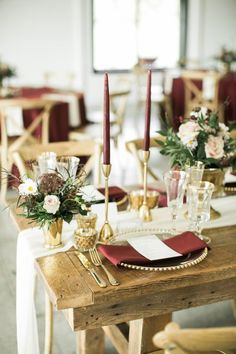 fall wedding place setting burgundy and greenery details unique events fall wedding place