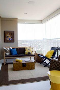 Varandas de apartamento - Casa e Decoração - UOL Mulher