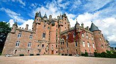 Castle Glamis, Angus, Escócia