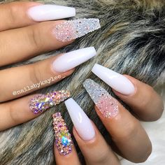 "934 Likes, 13 Comments - Lic Nail Tech ‍ApptOnly (@nailsbykaylee_) on Instagram: ""All acrylic """