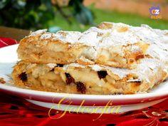 Strudel di mele con pasta sfoglia, ricetta dolci veloci