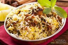Receita de Arroz biryani em receitas de arroz, veja essa e outras receitas aqui!
