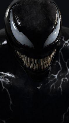 Iphone Default Wallpaper Missing Venom Comics, Marvel Venom, Marvel Comics Art, Marvel Heroes, Marvel Avengers, Venom Tattoo, Spider Man Trilogy, Eddie Brock Venom, Venom 2018