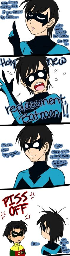 Holy replacement batman