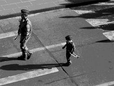 """""""El niño soldado"""" - 2012. Photo by: Cruz Angeles."""