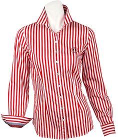 Moderne #Bluse aus der Navy Sports Kollektion von LISA CAMPIONE.