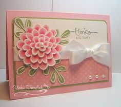 It's a Stamp Thing: OCC...Design Team Call. Flower fest & white embossing.