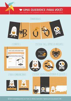 Uma queridice para você:  Halloween !
