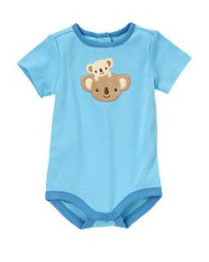 Koala Baby Bodysuit!!!! okay gymboree def went different with animals this last couple lines. i like this one much better than the girl koala.