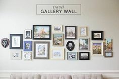 Travel Gallery Wall