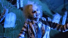 Michael Keaton stars in the brilliant horror comedy 'Beetlejuice' - Directed by Tim Burton.