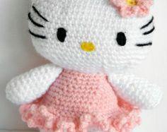 Hello Kitty Ballet Dancer/Amigurumi Japanese Hello Kitty/ Baby Dolls/Amigurumi/Soft toys for baby/Crochet Amigurumi Toys/Soft Baby Doll