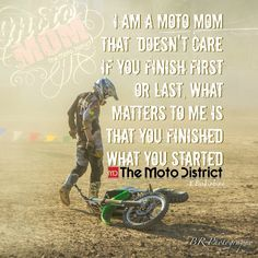 For the sweet love of MOTOCROSS! Our ultimate list of motocross quotes are dirty, funny, serious and always true. Check out our favorite motocross sayings Motocross Quotes, Dirt Bike Quotes, Biker Quotes, Motorcycle Quotes, Fox Motocross, Motorcycle Tattoos, Motocross Bikes, Sport Bikes, Dirt Bike Girl