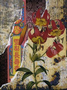 Mixed Media Botanical Prints   Michael Mew | inspiration