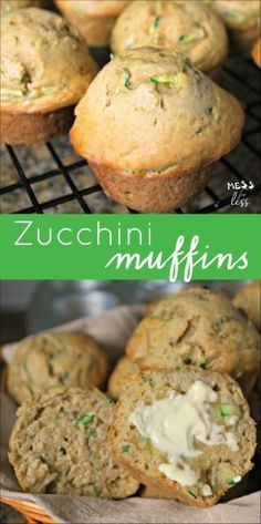These easy zucchini muffins are my kids favorites! They help to make them and…