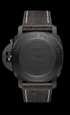 Panerai PAM 508 Ceramic Back