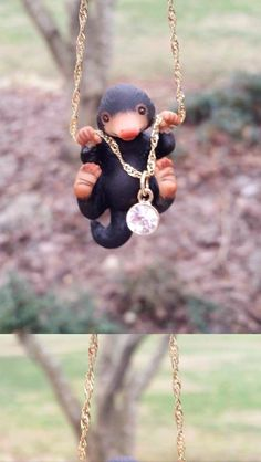 Fantastic Beasts. Niffler necklace