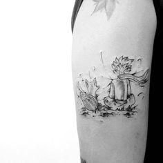 Tatuagem feita por Caio Cesar de São Paulo. O pequeno príncipe. #tattoo #tatuagem #tattoo2me #art #arte #delicada #fofa #sweet