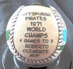 Pirates Baseball, Baseball Field, Baseball Cards, Roberto Clemente, Pittsburgh Sports, Pittsburgh Pirates, Puerto Rico, 1971 World Series, Carnegie Science Center