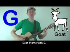 The Letter G Song for Kids