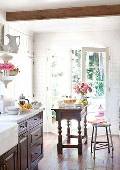 Cucina piccola con isola - Cucina con isola centrale   Cucina