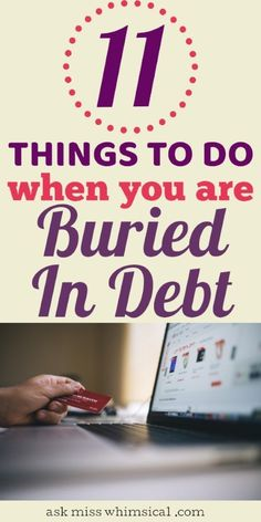 How to pay off your debt when you are living paycheck to paycheck? Get out of debt fast using these 11 important debt payoff tips to help you get started on a debt-free life. #debtfreelife #payoffdebt #moneymindset #millennial #money #getoutofdebt