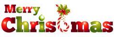 Transparent Merry Christmas Decor PNG Clipart