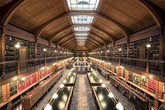 Photo Bibliothèque De L'Hôtel de Ville - Franck Bohbot