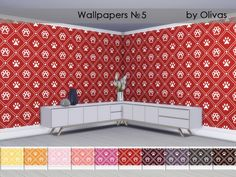 Created for: The Sims 4 Found in TSR Category 'Sims 4 Walls & Floors Sets'