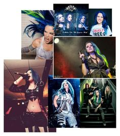 """""""Arch Enemy's Alissa White-Gluz"""" by sophiasooutcast ❤ liked on Polyvore featuring Agonist"""