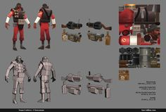http://tommytallian.blogspot.nl/p/low-poly-tf2.html