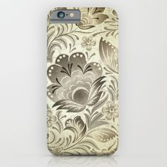#decoupage #flowers #floral #brown #creamcolor #woman #girly #pretty #shabby #phonecases available in different #homedecor products. Check more at society6.com/julianarw