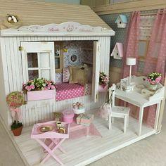 Diorama by the amazing Yolanda! Finally I've owned one!!!