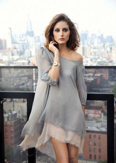 layered chiffin dress . Olivia Palermo for Cartier . International Polo Magazine, Sept 2011 . Photography by Mike Filonow