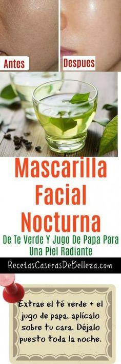 Mascarilla Facial Nocturna #mascarillafacial #belleza